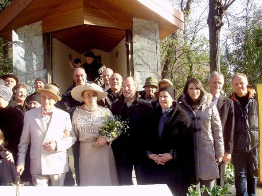 Una foto dell'inaugurazione